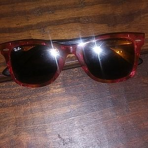 Rayban Original Wayfarer Red Tortoiseshell w/case